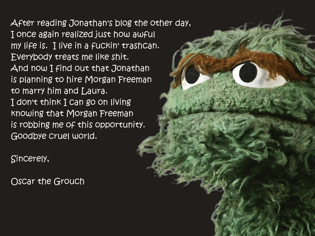 Oscar The Grouch Sign